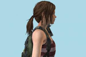 The Last Of Us - Ellie Left Behind Girl